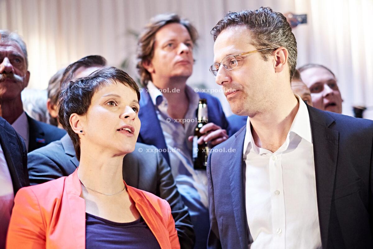 Landtagswahl NRW - Wahlparty der AfD