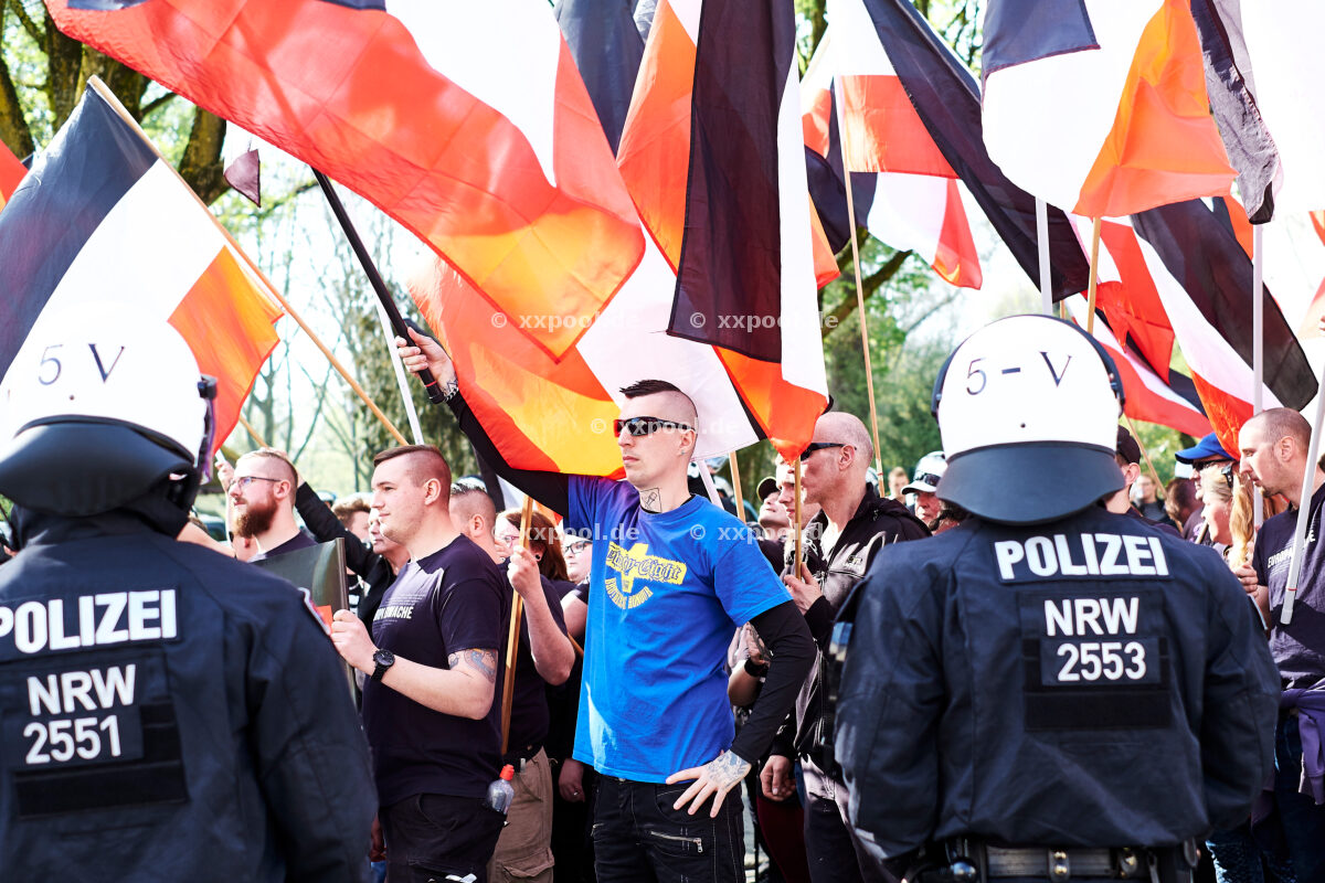 Germany, Neo-Nazi Germany in Dortmund. Under the motto