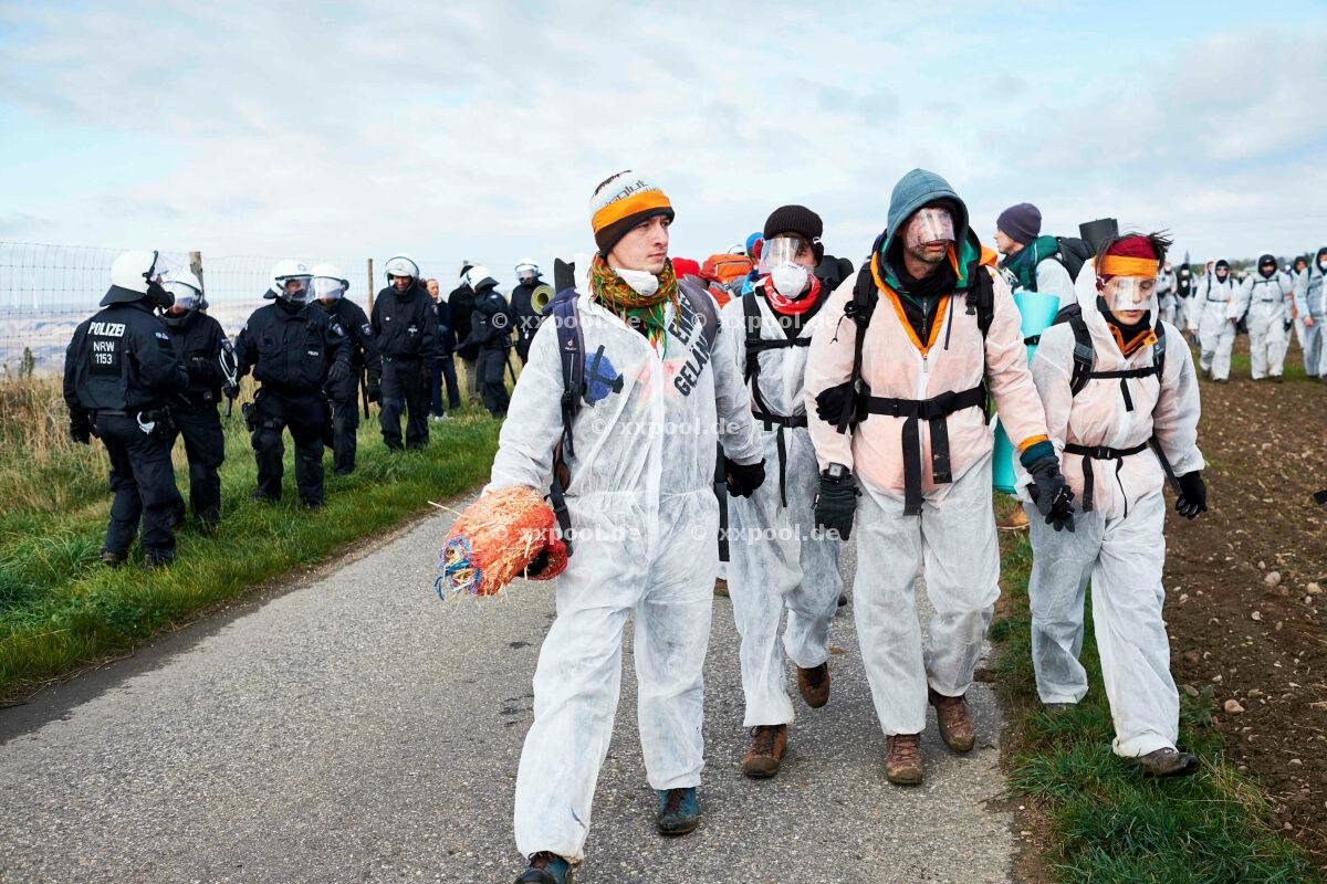 Endgelände - protest against lignite