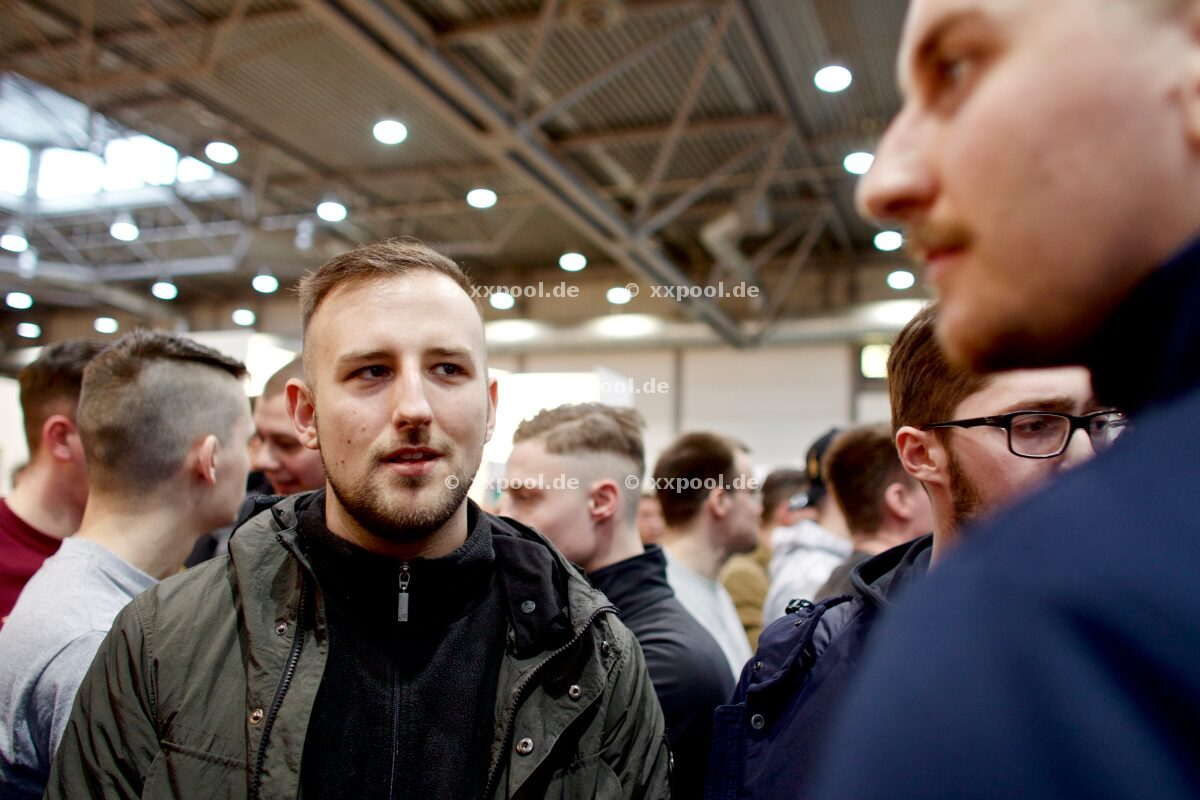 Right-wing radicals at the book fair in Leipzig