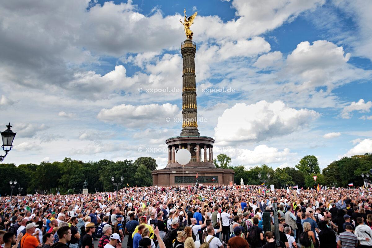 Corona protests Berlin