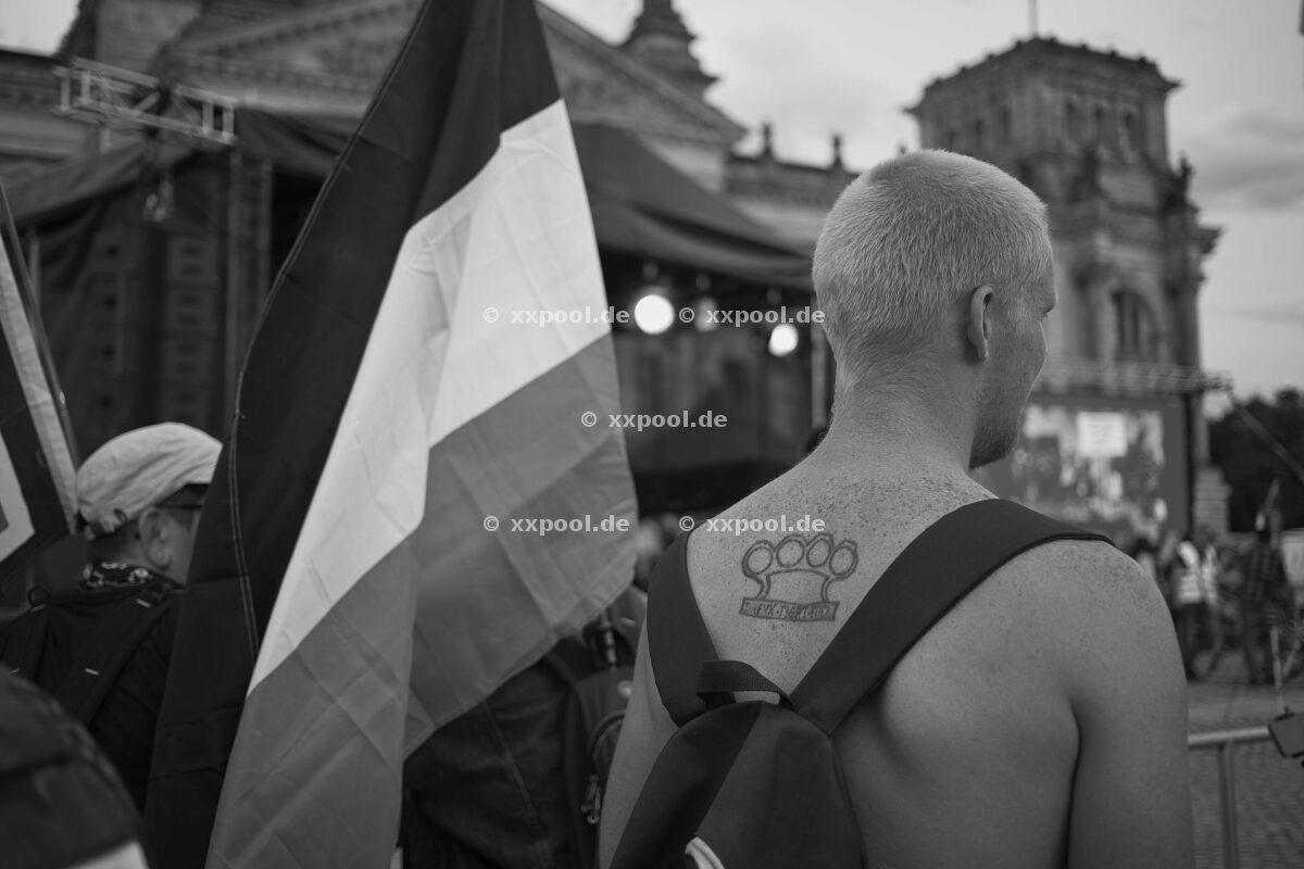Right marches in Chemnitz
